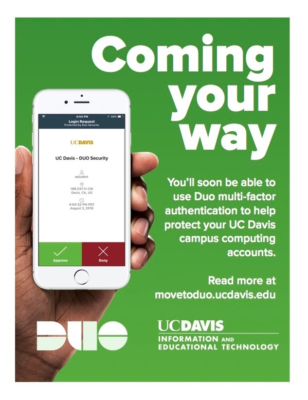 Duo message displayed on CoHo on Oct. 5