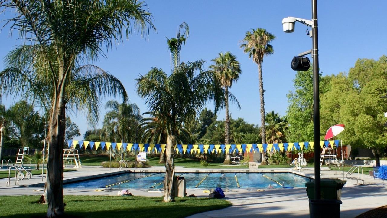 Rec Pool at UC Davis, June 2019