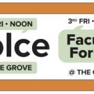 Logo for faculty forum, DOLCE