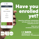 Duo enrollment poster